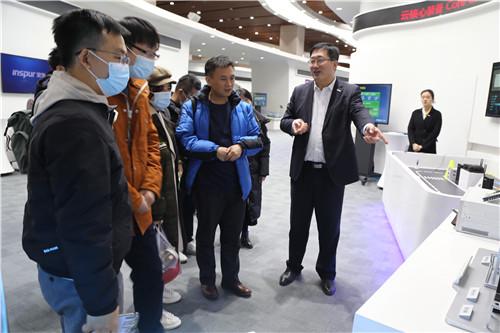 深圳市计算机学会(SZCCF)走进浪潮集团总部(济南)